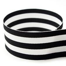 "1-1/2"" Taffy Striped Grosgrain Ribbon - Many Colors - 20YD & 50YD Options"