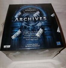 World of Warcraft TCG WoW Trading Card Game Archives Booster Box 24 Packs Sealed