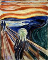 The Scream Painting by Edvard Munch Art Reproduction