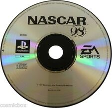 PlayStation 1 jeu video NASCAR 98 course autos 1998 testé console psx ps1 ps2