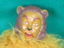 RARE VINTAGE 1973 WEGO MEGO CORP RUBBER HEAD WIZARD OF OZ COWARDLY LION DOLL TOY