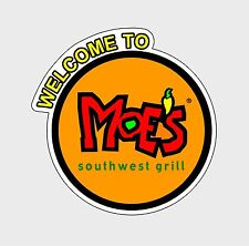 Moe's Southwest Grill Decal Sticker Moes