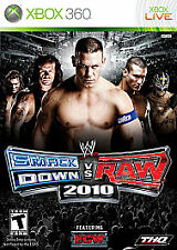 WWE SmackDown vs. Raw 2010 Featuring ECW (Microsoft Xbox 360, 2009) DISC ONLY