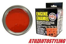 E-TECH RED  Engine Block Enamel PAINT Valves 250ml <<NEW>>