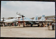 AVIATION, PHOTO AVION SU-27 UB, 321