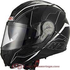 Nzi cascos modulares Sword Black&white talla m