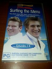 Surfing the Menu episodes 1-4 Curtis Stone & Ben O'Donoghue Vhs video