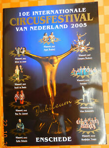 CIRCUS FESTIVAL ENSCHEDE NL Programm 2005 Zirkus