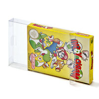 10 Box Protectors for Nintendo NES Sleeves Boxed Games CIB Plastic NES Case