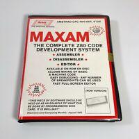 MAXAM Z80 Code Development ROM - Amstrad CPC 464/664/6128 ROM Version - COMPLETE