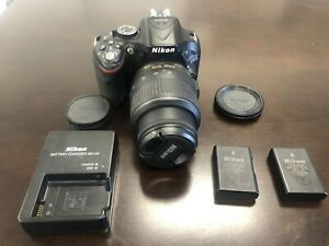 Nikon D5200 DSLR Camera with 18-55mm Lens, Accessories, and 10169 Shutter Counts