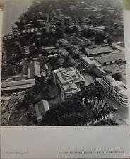 1954 Moyen-Congo A.E.F. le Centre de Brazzaville & le Stanley Pool