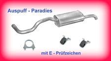 Endschalldämpfer Endtopf VW Polo III 1.4 16V & 1.6 Classic & Variant/Kombi +Kit