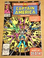 CAPTAIN AMERICA #359 MARVEL COMIC 1ST APP CROSSBONES MOVIE VILLAIN OCTOBER 1989