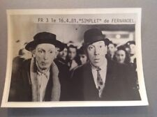 "FERNANDEL   -   "" SIMPLET ""  - PHOTO DE PRESSE  13x18cm"