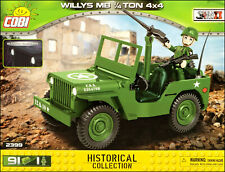COBI Willys MB 1/4 ton 4x4 (2399) - 91 elem. - WWII US military vehicle