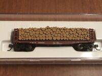 ATLAS #38421 GSC Pulpwood Flat Car LOUISVILLE & NASHVILLE L&N #20500 - LNIB