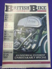 BRITISH BIKE - SUNBEAM S7 - Dec 1988 #15