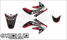 KIT ADESIVI GRAFICHE EASY SKULLZ HONDA CRF 450 2005 2006 2007 2008 DECALS DEKOR