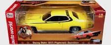 Dukes of Hazzard 1/18 Scale Auto World Daisy's Yellow 1971 Plymouth Satellite