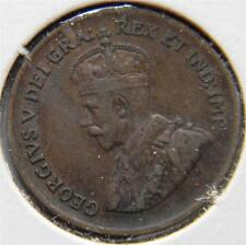 CANADA, George V: 1927 bronze Cent; XF+