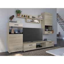anbauwand sonoma eiche g nstig kaufen ebay. Black Bedroom Furniture Sets. Home Design Ideas