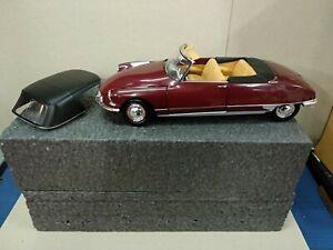 Citroen DS19 Cabrio Norev 1/18 (Sin Caja)