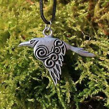 Anhänger  Keltischer Rabe * Weisheit und Schutz