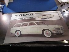 1962 Volvo 122s  Station Wagon brochure flyer