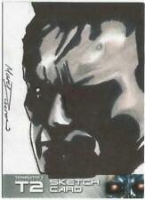 Terminator 2 Judgment Day Sketch Card drawn by Marc Ducrow