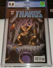 Thanos #13 CGC 9.8 NM/MT 2rd Print Marvel 1st Appearance of Cosmic Ghost Rider