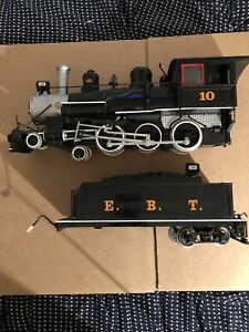 G Scale Bachmann Loco Number 10 EBT