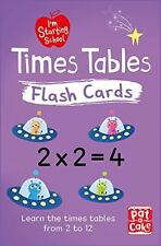 Times Tables Flash Cards 9781526380159 Paperback