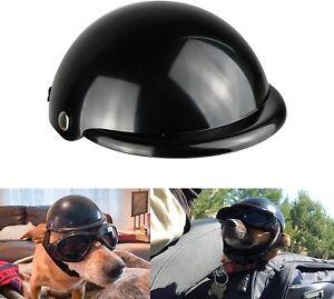 Enjoying Pet Helmet Motorcycle Dog Doggie for Bike Cat Medium