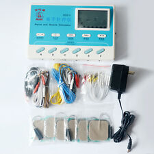 6 Channel SDZ-V Electrical Stimulator Body Relax Massager Pulse Acupuncture TENS