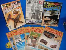 lote de revistas AEROMODELISMO -8 revistas MODELISMO Y DIORAMAS + TODO MODELISMO