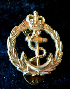 ROYAL NAVY - CHIEF PETTY OFFICER TIE PIN BADGE - RARE LITTLE ITEM NOWADAYS