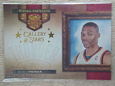 RUSSELL WESTBROOK 2009-10 COURT KINGS GALLERY OF STARS CARD  #13 217/249