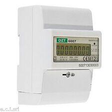 33103350 DZT-6007 CONTATORE DIGITALE DI kW A SINGOLA FASE 80A