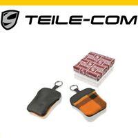ORIG. Porsche 911 F/G Porsche Classic Schlüssel Etui /Wappen/Schottenkaro orange