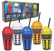 New Doctor Who Limited Edition Dalek 16 oz. Tumbler Set of 5, BPA Free