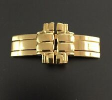 Genuine Maurice Lacroix Folding Clasp & End Links Gold 69515-87 459-000007 18mm
