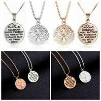 Necklaces Pendant Guardian Rose Gold Heart Fashion Gift Silver Angel Acces Women