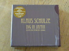 Klaus Schulze: Big in Japan 2 CD+DVD Box Limited Edition of 500 CTCD-648-649 M(Q