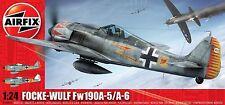 AIRFIX 1:24 KIT MONTAGGIO AEREO FOCKE WULF FW190 A-5 / A-6 16001A  serie 16