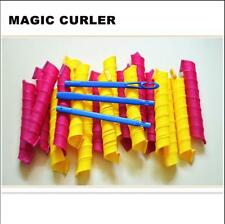 18 PCS 55cm Magic Hair Curlers Curl Formers Spiral Ringlets Leverage Rollers New