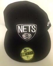 Brooklyn Nets New Era 59FIFTY NBA Men's Fitted Cap Hat - Size 7 3/4 New