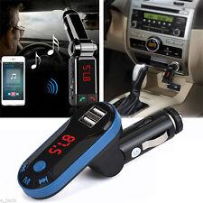 Bluetooth Wireless Mp3 Player Fm Transmitter Handsfree Car Kit Usb Tf Sd Remote