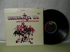 The Checkmates LTD LP Live At Ceasers Palace NM 1968 Fantastic Rock R&B Orig!