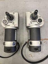 Electrocraft 500watt 4 Pole 24volt DC Motor With Brake  (Pair Of Motors)